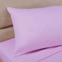 Lilac Polycotton Percale Oxford Pillowcase