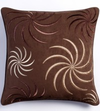Swirl Chocolate Cushion Cover 45x45cm