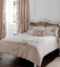 Deco Rose Gold Duvet Cover Set, Super King