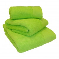 Luxury Egyptian Cotton Lime Face Cloth 30 x 30 cm