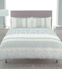 Orinoco Duck Egg Chintz Duvet Cover Set, King Size