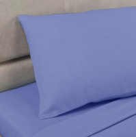 Lagoon Polycotton Percale Housewife Pillowcase (pair)