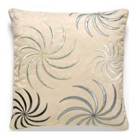 Swirl Duck Egg Cushion Cover 45x45cm