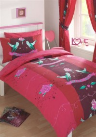 Tattoo Love Duvet Cover Set, Single