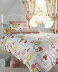 ABC Alphabet Duvet Cover Set Single