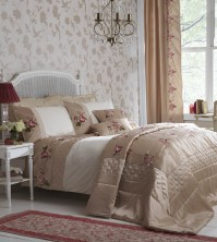 Amalie Champagne Duvet Cover Set Super King