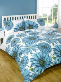 Antonella Teal Duvet Cover Set - Single