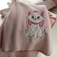 Aristocats Marie Fleece Throw