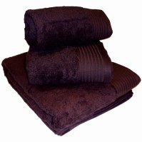 Luxury Egyptian Cotton Aubergine Face Cloth 30 x 30 cm