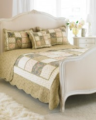Avignon Beige Bedspread King Size