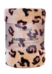 Mink Faux Fur Throw Cheetah 150x200cm