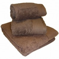 Luxury Egyptian Cotton Chocolate Bath Sheet 100 x 150cm