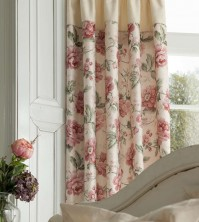 "Helena Jacquard Pencil Pleat Curtains - 66x72""/168x183cm"