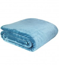Mink Faux Fur Throw Jade 150x200cm 