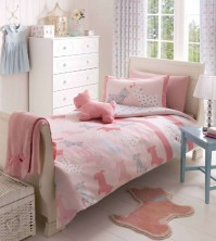 Scottie Pink Duvet Cover Set Single