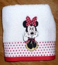 Minnie Mouse Oh My Face Cloth
