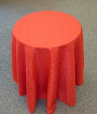 Vienna Round Red Tablecloth 150cm