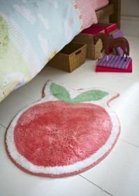 Pony Apple Shaped Rug