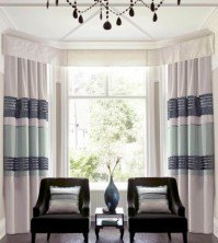 "Sequin Band Teal Pencil Pleat Curtains 90x90"" / 229x229cm"