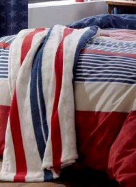 Stars &amp; Stripes - Striped Throw 
