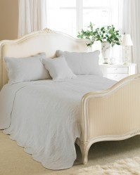 Toulon Grey Bedspread Double