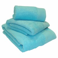 Luxury Egyptian Cotton Turquoise Bath Towel 70 x 130 cm