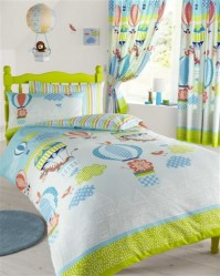 Up In The Air Duvet Cover Set Single