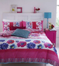 Watercolour Floral Duvet Cover Set Single