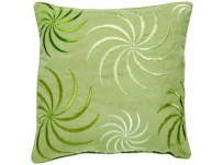 Swirl Green Cushion Cover 45x45cm