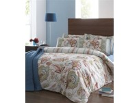 Acacia Multi Duvet Cover Set, Single