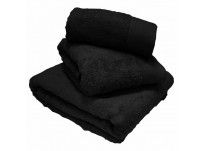 Luxury Egyptian Cotton Black Bath Mat