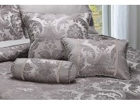 Carrington Pewter Boudoir Cushion