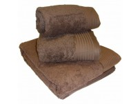 Luxury Egyptian Cotton Chocolate Hand Towel 50 x 90cm