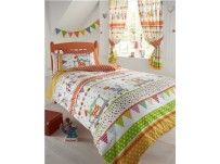 Circus Parade Duvet Cover Set Single