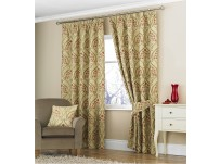 "Emile Rose Pencil Pleat Curtains 66x54""/168x137cm"