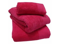 Luxury 100% Egyptian Cotton Fuchsia Bath Mat