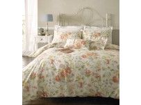 Janet Reger - Sophia Poppy Duvet Cover Set, Double