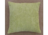 "Jumbo Cord Cushion Cover Lime 22""/55cm"