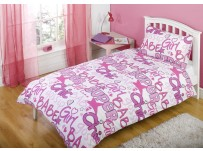 Grafitti Chic Duvet Cover Set, Single