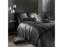 Kylie Minogue Cassia Black Duvet Cover Single