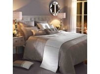 Kylie Minogue Ria Silver Duvet Cover Double