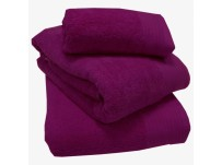 Luxury 100% Egyptian Cotton Magenta Bath Mat