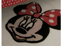 Minnie Mouse Oh My!! Minnie Mouse Head Rug