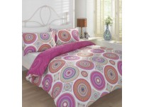 Mustique Fuchsia  Duvet Cover Set, Single
