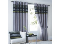"Newton Eyelet Curtains 66x54"" / 168x137cm"
