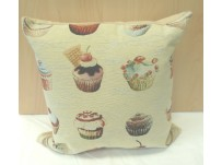 Cupcake Tapestry Complete Cushion