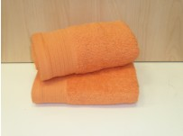 Luxury Egyptian Cotton Tangerine Bath Towels 70 x 130 cm