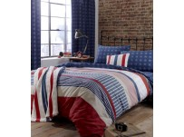 Stars & Stripes Single Duvet Cover Set
