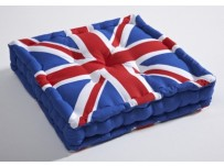 Union Jack Box Seat Pad