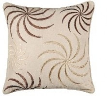 Swirl Cream Cushion Cover 45x45cm